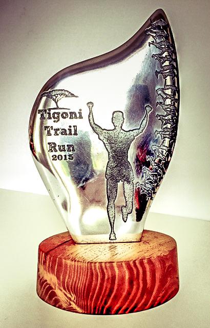 Tigoni Trail Run trophy