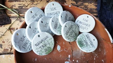 Naivasha Trail Run medal